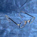 Algha 20 Mikron Altın Kaplama Antika Gözlük