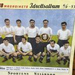 1953 Yılına Ait Beşiktaş Futbol Takım Kadrosu Görseli