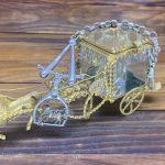 Kristal Mücevher Kutusu Cep Saati Kösteği