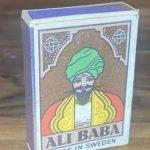 Ali BABA Görselli Eski Kibrit Kutusu