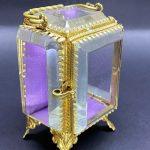 Kristal Mücevher Kutusu – Cep Saati Standı